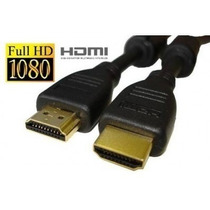 Cabo Hdmi X Hdmi 1.4 Full Hd 1080 3d P/ Hi Fi / Alta Perform