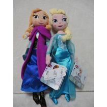 Elsa E Anna 2 Plush Frozen De 30 Cm - Original Disney