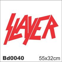 Adesivo Bd0040 Slayer Rock Decoração Parede