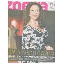 Jornal Zoeira: Marisa Orth / Zeca Camargo / Lily James
