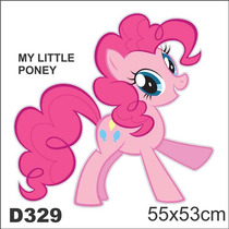 Adesivo Decorativo Infantil My Little Poney D329