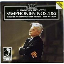 Cd Beethoven - Symphonien 1, 2, 3 - Herbert Von Karajan