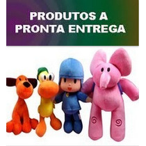 Pronta Entrega Turma Do Pocoyo Grandes 4 Bonecos 26 A 30cm