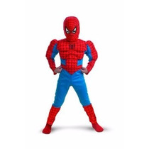 Fantasia Homem Aranha Tamanho 6 Anos
