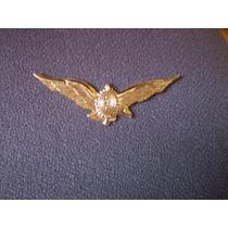 Distintivo Dourado De Piloto Da Aviação Do Exército
