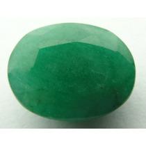 Esmeralda 100% Natural Oval Verde 7.75 Cts! Ref.:219