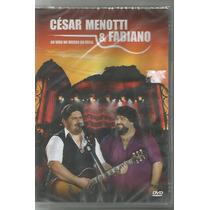 César Menotti & Fabiano - Ao Vivo No Morro Da Urca- Dvd Novo