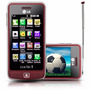 Celular Desbloqueado Lg Tv Phone Scarlet Gm600 Vermelho