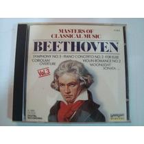 4 Cds - Masters Of Classical Music- Originais- Frete Gratis