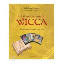 Livro E Baralho Wicca 42 Cartas Sally Morningstar Ed Cultrix
