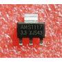Regulador De Tensão 3.3v Ams1117   Kit Com 15 Peças