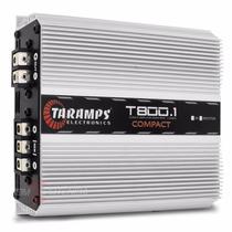 Modulo Taramps T800 1 Canal 800w Rms Compact + Frete Grátis