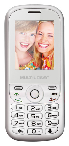 Celular Multilaser Up 2chip Quad Cam Mp3 / 4 Fm Mania Virtual