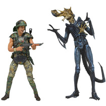 Helmeted Hicks Vs. Battle Damaged Warrior Two-pack Aliens