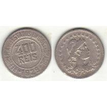 Lote Com 10 Moedas De 400 Réis Série 1918-1935