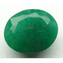 Esmeralda 100% Natural Oval Verde 10.55 Cts! Ref.:207