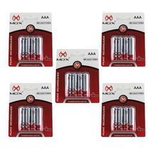 Kit Com 20 Pilha Palito Recarregável Mox Aaa 1100