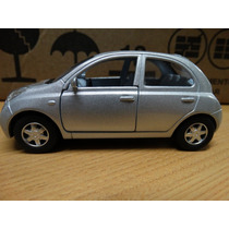 Nissan Micra - Kinsmart - 1:28 - Prata