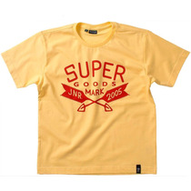 Camiseta Mc Super Camisa Menino Jnr