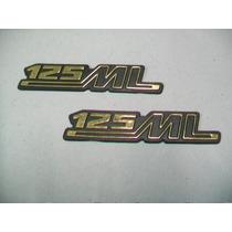 Emblemas Da Tampa Lateral Para Ml 125 78 A 82