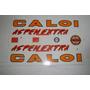 Adesivo Colante Para Bike Caloi Aspen Extra Amarelo/vermelho