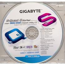 Cd Drivers Original Placa Mae Gigabyte Ver. 1.04 Frete Grati