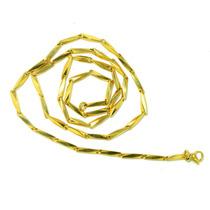 Corrente Cordão Aço Inoxidável 316l Masculino Dourado!