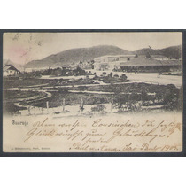 Postal Circulado 1905 Guaruja Santos J. Bidschovsky