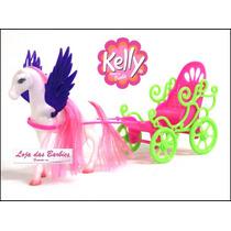 Boneca Bebê Estilo Kelly ( Barbie ) Com Carruagem De Luxo !