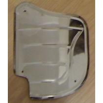 Polaina Paralama Traseiro Carro Fusca Inox Modelo 2b