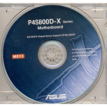 Cd Drivers Original Placa Mae Asus P4s800d-x Frete Gratis