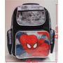 Mochila Escolar Rodinhas Homem Aranha Spider Man