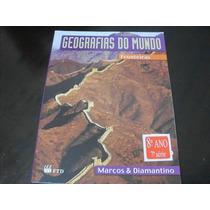 Geografias Do Mundo Fronteiras - 8ºano (livro Do Professor)
