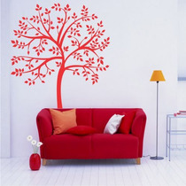 Adesivo Decorativo Árvore Folhas - Tamanho Grande