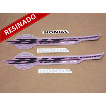 Kit Adesivos Biz 125 Es 2010 Rosa - Resinado - Decalx