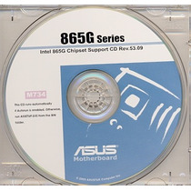 Cd Drivers Original Placa Mae Asus P4p800-mx 865g Series