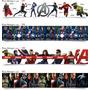 Faixa Border Decorativo De Parede Avengers Homem De Ferro