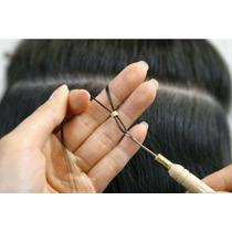 Kit Micro-link 100 Unidade E Agulha Para Mega Hair E Mechas.