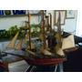 Barco Antigo De Madeira
