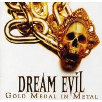Dream Evil-gold Medal In Metal Cd Duplo Import