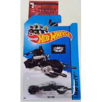 Bat-pod - Moto Do Batman - Hot Wheels 2014