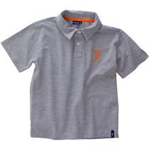 Camiseta Polo Piquê Camisa Menino Jnr