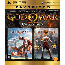 Jogo God Of War Collection Ps3 - Novo Mídia Fisica Original