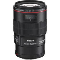 Lente Canon Usm Macro Is Ef 100mm F/2.8l +nfe +garantia