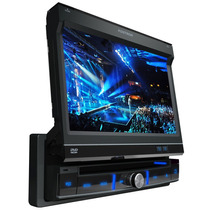 Dvd Player Automotivo Tela Retratil 7 Touch Screen Positron