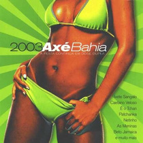 Cd Duplo Axe Bahia 2003