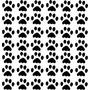 Adesivo Pata Cachorro 7x6,5 42peças