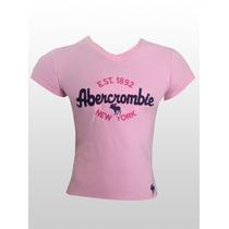 Baby Look Hollister Abercrombie Feminina -kit Com 5 Unidades
