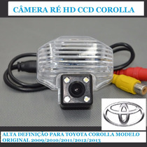 Câmera Ré Mod Original Hd Ccd Corolla 2009/10/11/12/13