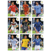 Cards Copa 2014 - Adrenalyn Lote 50 Cards Distintos